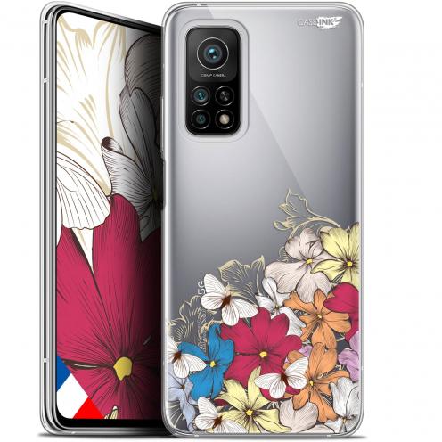 "Coque Gel Xiaomi Mi 10T / 10T Pro 5G (6.67"") Motif - Nuage Floral"