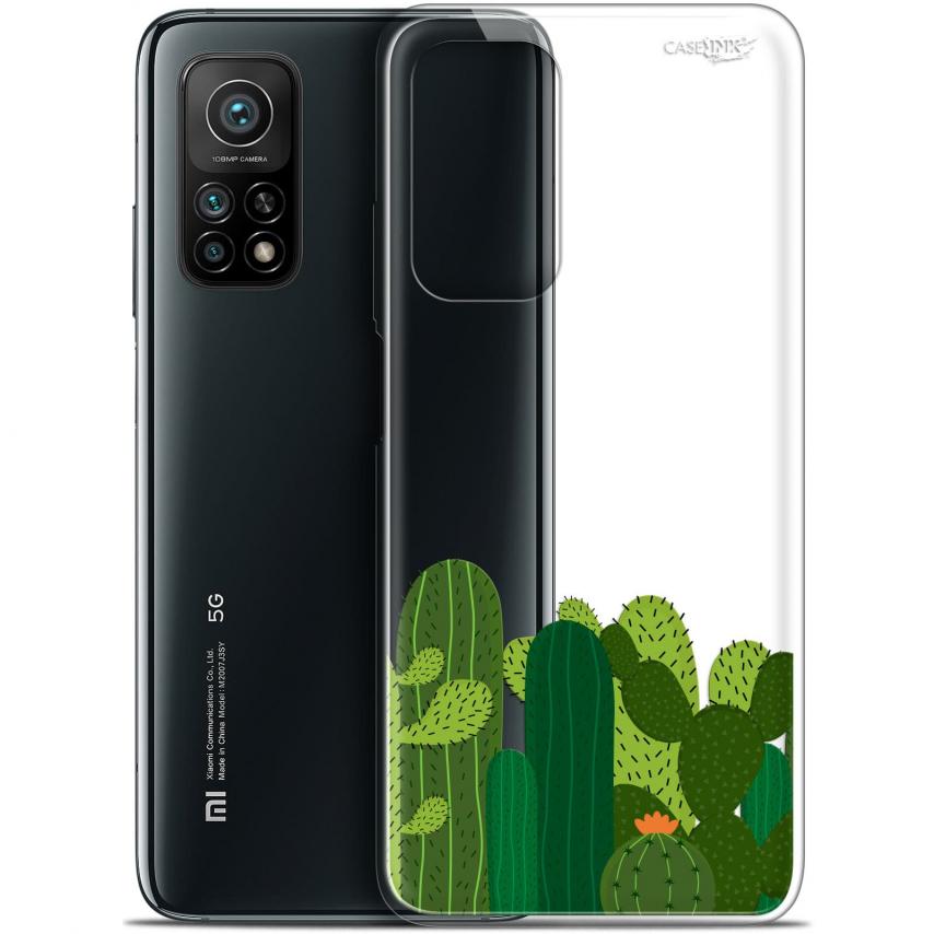 """Coque Gel Xiaomi Mi 10T / 10T Pro 5G (6.67"""") Motif - Cactus"""