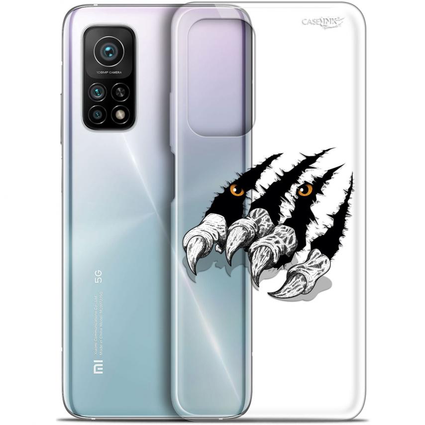 """Coque Gel Xiaomi Mi 10T / 10T Pro 5G (6.67"""") Motif - Les Griffes"""
