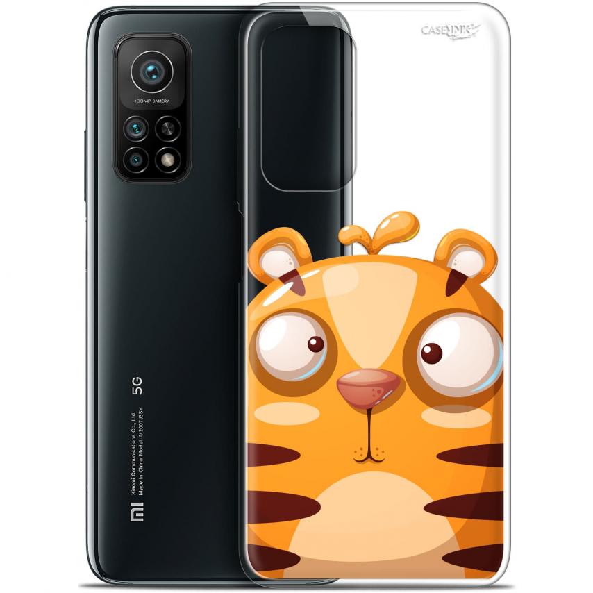 "Coque Gel Xiaomi Mi 10T / 10T Pro 5G (6.67"") Motif - Cartoon Tiger"