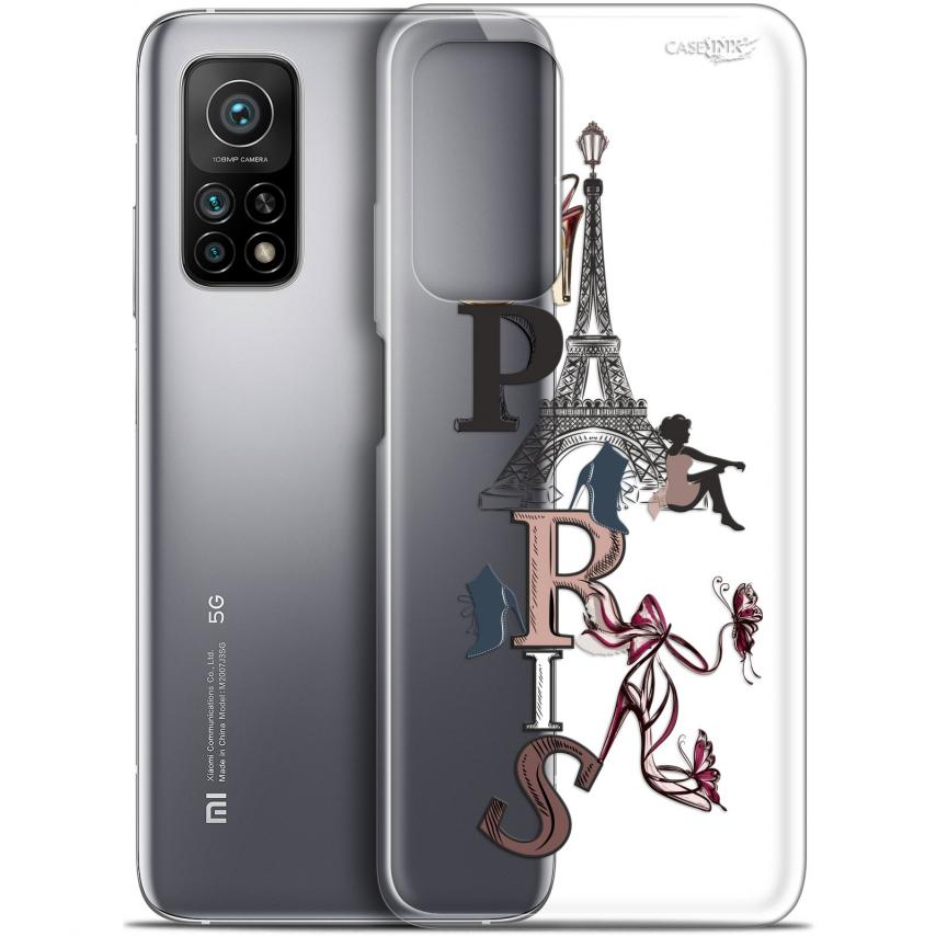 "Coque Gel Xiaomi Mi 10T / 10T Pro 5G (6.67"") Motif - Stylish Paris"