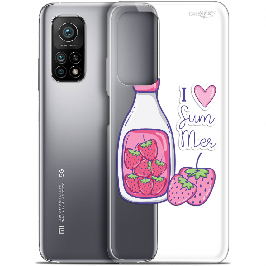 "Coque Gel Xiaomi Mi 10T / 10T Pro 5G (6.67"") Motif - Milky Summer"