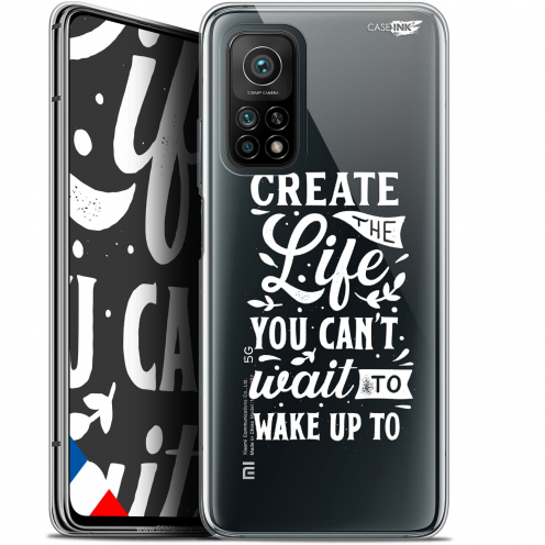 "Coque Gel Xiaomi Mi 10T / 10T Pro 5G (6.67"") Motif - Wake Up Your Life"