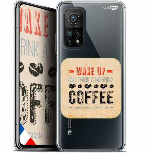 "Coque Gel Xiaomi Mi 10T / 10T Pro 5G (6.67"") Motif - Wake Up With Coffee"
