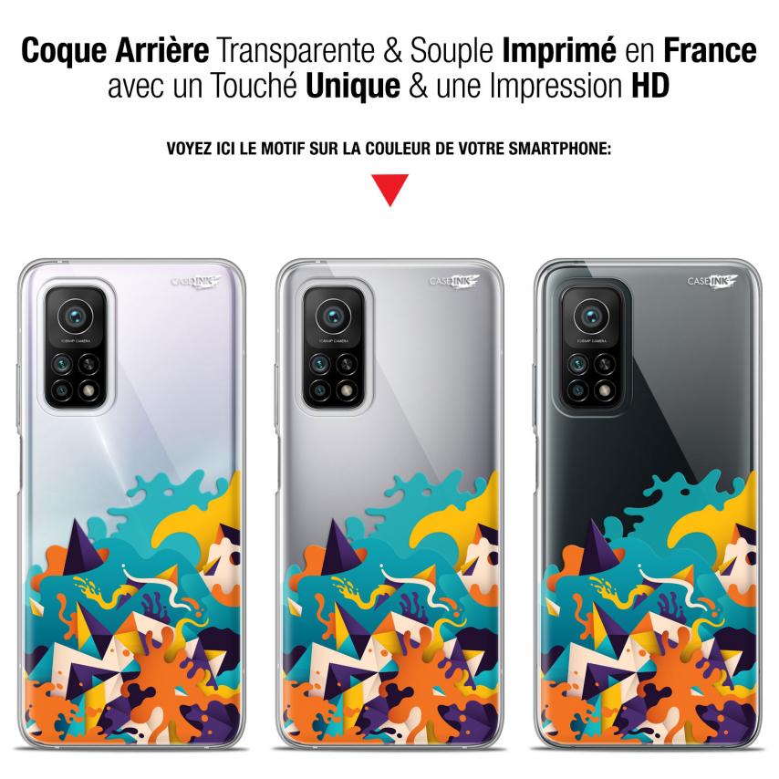 """Coque Gel Xiaomi Mi 10T / 10T Pro 5G (6.67"""") Motif - Les Vagues"""