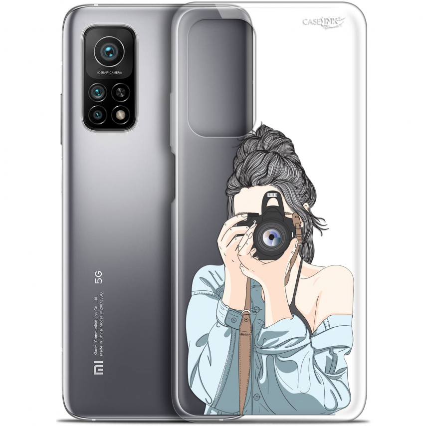 "Coque Gel Xiaomi Mi 10T / 10T Pro 5G (6.67"") Motif - La Photographe"