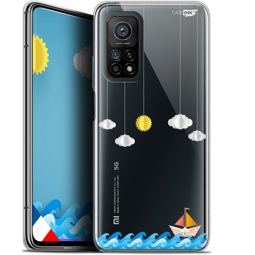 "Coque Gel Xiaomi Mi 10T / 10T Pro 5G (6.67"") Motif - Petit Bateau en Mer"
