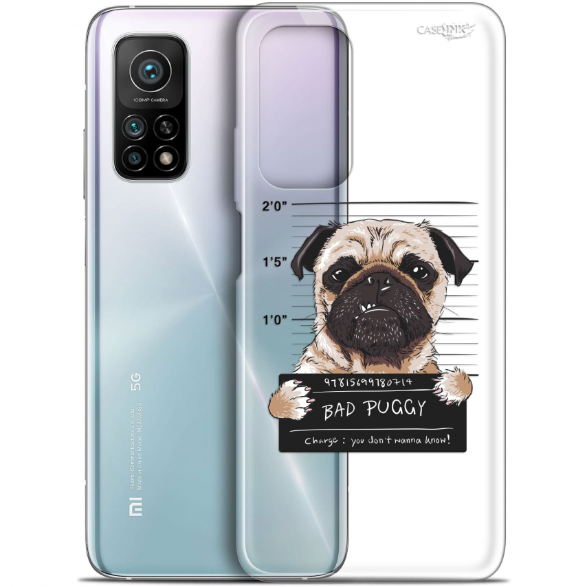 "Coque Gel Xiaomi Mi 10T / 10T Pro 5G (6.67"") Motif - Beware The Puggy Dog"