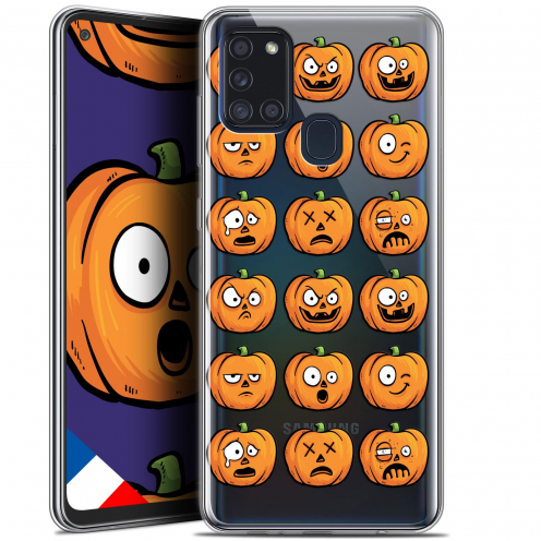 "Coque Gel Samsung A21S (6.5"") Halloween - Cartoon Citrouille"