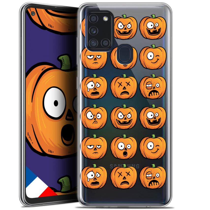 "Coque Gel Samsung A21S (6.5"") Halloween - Cartoon Citrouille"