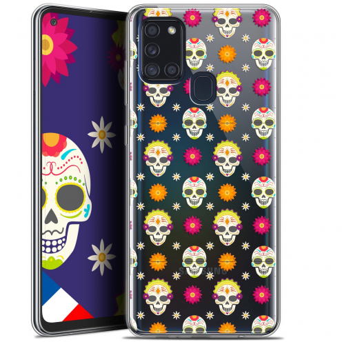 "Coque Gel Samsung A21S (6.5"") Halloween - Skull Halloween"