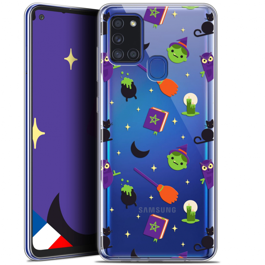 "Coque Gel Samsung A21S (6.5"") Halloween - Witch Potter"
