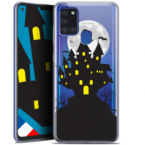 "Coque Gel Samsung A21S (6.5"") Halloween - Castle Scream"