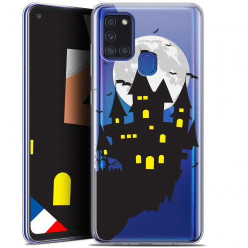 "Coque Gel Samsung A21S (6.5"") Halloween - Castle Dream"