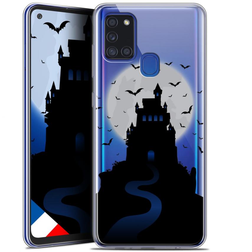 "Coque Gel Samsung A21S (6.5"") Halloween - Castle Nightmare"
