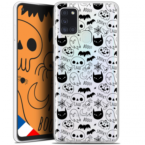 "Coque Gel Samsung A21S (6.5"") Halloween - Spooky"