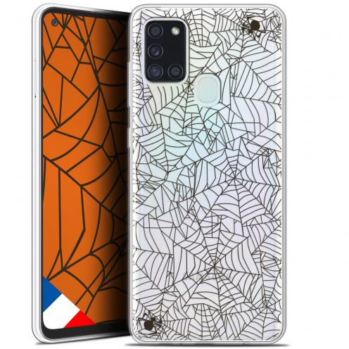 "Coque Gel Samsung A21S (6.5"") Halloween - Spooky Spider"