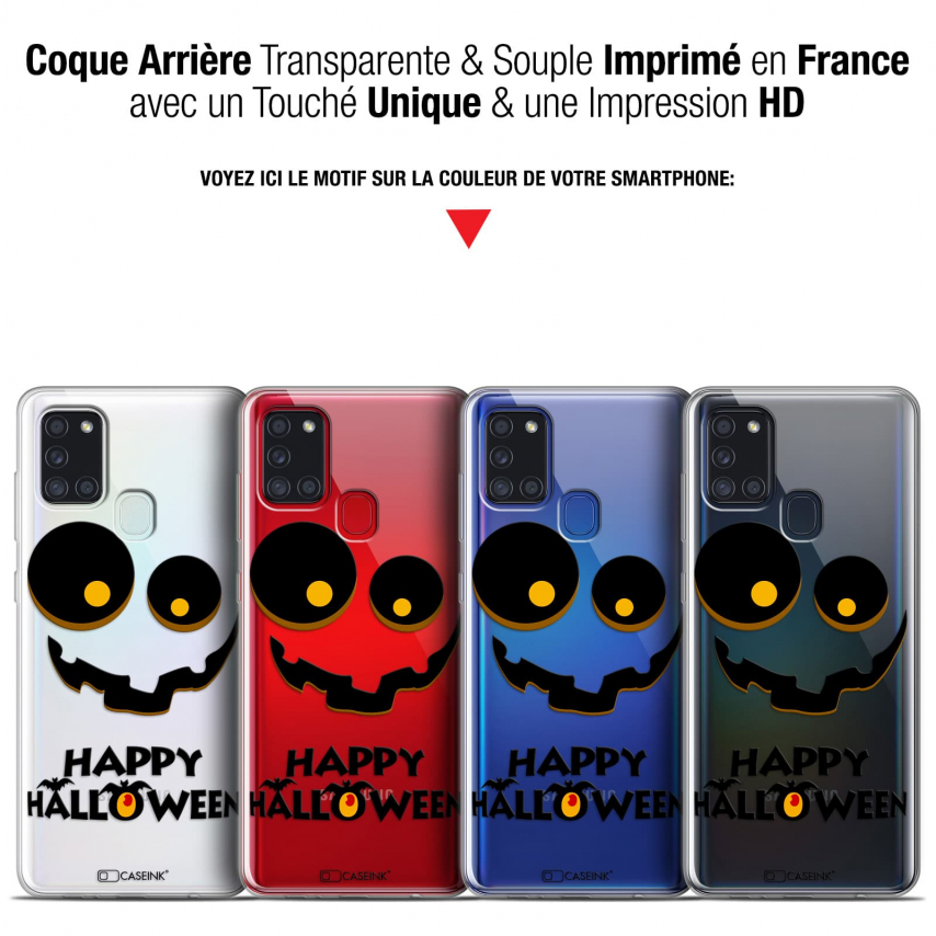 "Coque Gel Samsung A21S (6.5"") Halloween - Happy"