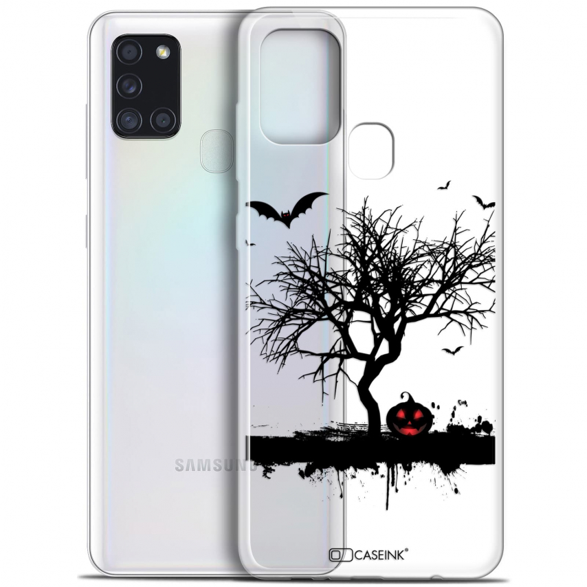 "Coque Gel Samsung A21S (6.5"") Halloween - Devil's Tree"
