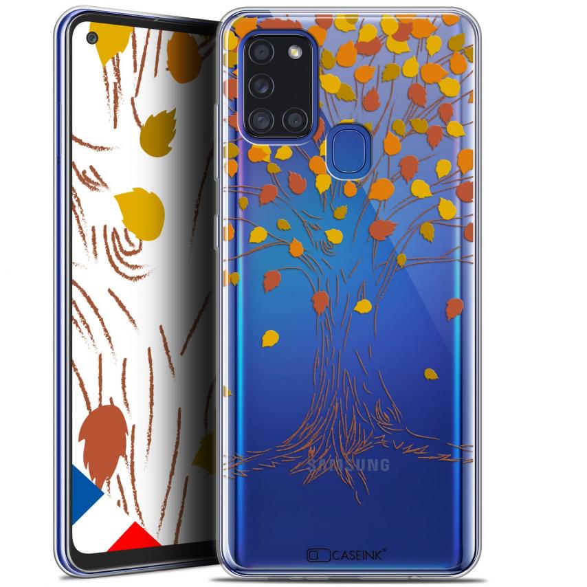 """Coque Gel Samsung A21S (6.5"""") Autumn 16 - Tree"""