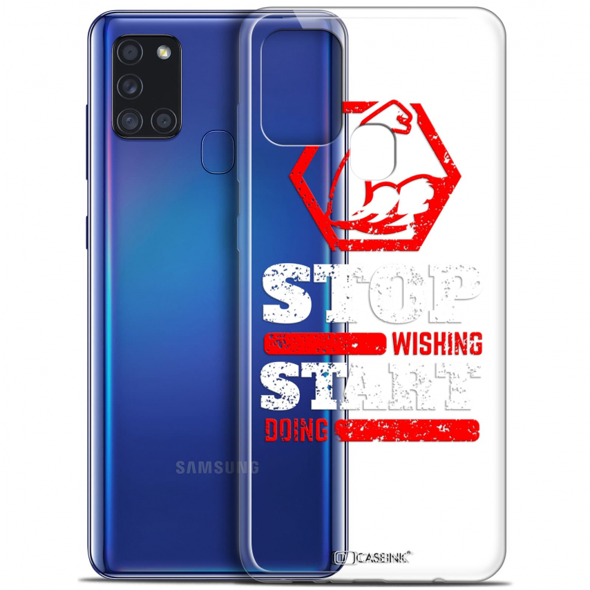 """Coque Gel Samsung A21S (6.5"""") Quote - Start Doing"""