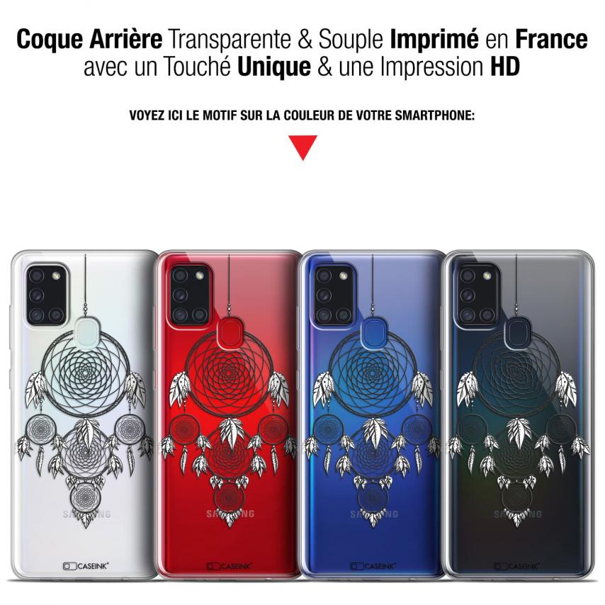 """Coque Gel Samsung A21S (6.5"""") Dreamy - Attrape Rêves NB"""