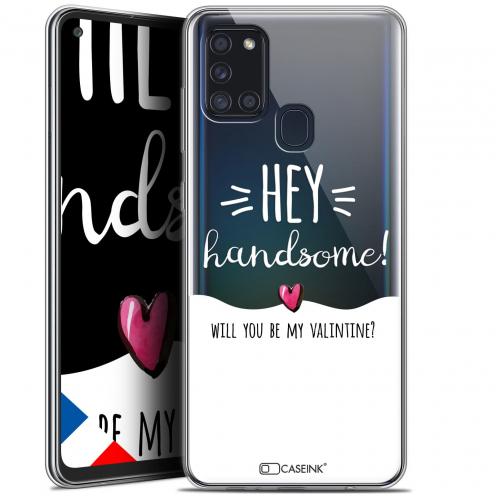 "Coque Gel Samsung A21S (6.5"") Love - Hey Handsome !"