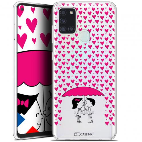 """Coque Gel Samsung A21S (6.5"""") Love - Pluie d'Amour"""