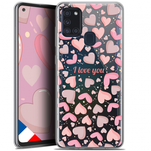 "Coque Gel Samsung A21S (6.5"") Love - I Love You"