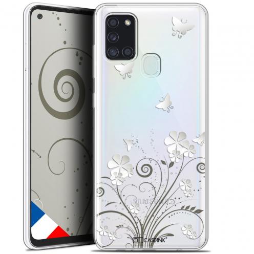 """Coque Gel Samsung A21S (6.5"""") Summer - Papillons"""