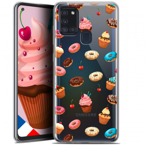 "Coque Gel Samsung A21S (6.5"") Foodie - Donuts"