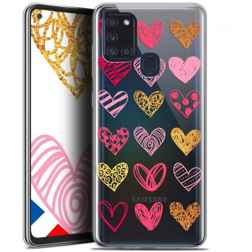 """Coque Gel Samsung A21S (6.5"""") Sweetie - Doodling Hearts"""