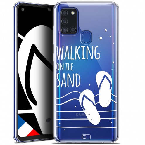 "Coque Gel Samsung A21S (6.5"") Summer - Walking on the Sand"