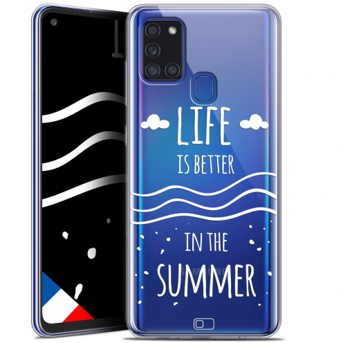 "Coque Gel Samsung A21S (6.5"") Summer - Life's Better"