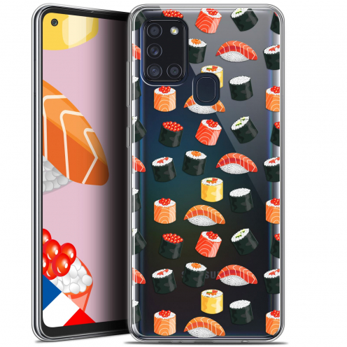 "Coque Gel Samsung A21S (6.5"") Foodie - Sushi"