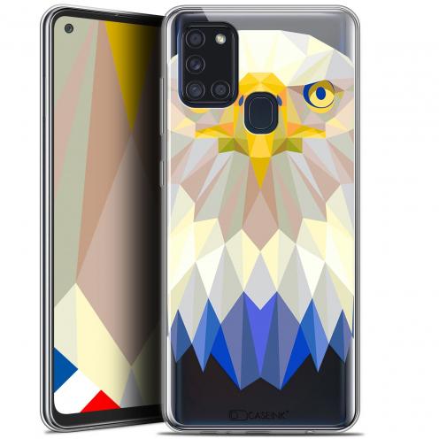 "Coque Gel Samsung A21S (6.5"") Polygon Animals - Aigle"