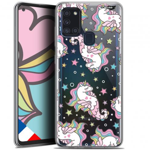 "Coque Gel Samsung A21S (6.5"") Motif - Licorne Dormante"