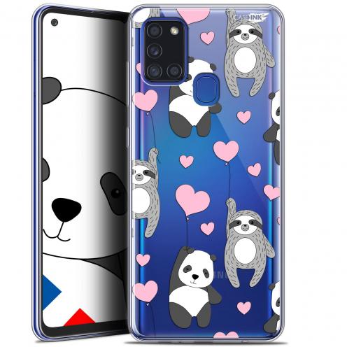 "Coque Gel Samsung A21S (6.5"") Motif - Panda'mour"