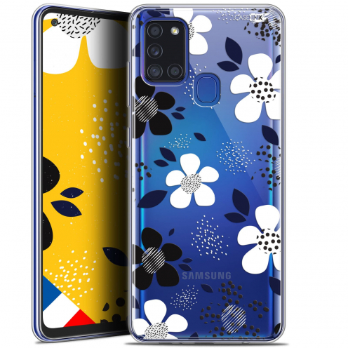 "Coque Gel Samsung A21S (6.5"") Motif - Marimeko Style"