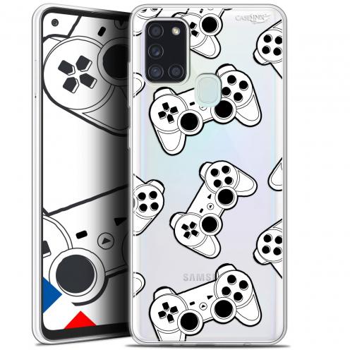 """Coque Gel Samsung A21S (6.5"""") Motif - Game Play Joysticks"""