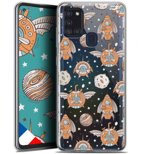"Coque Gel Samsung A21S (6.5"") Motif - Punk Space"