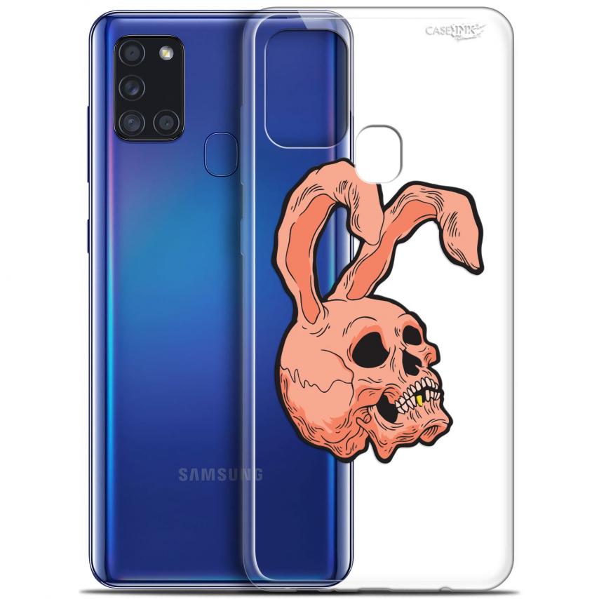 "Coque Gel Samsung A21S (6.5"") Motif - Rabbit Skull"
