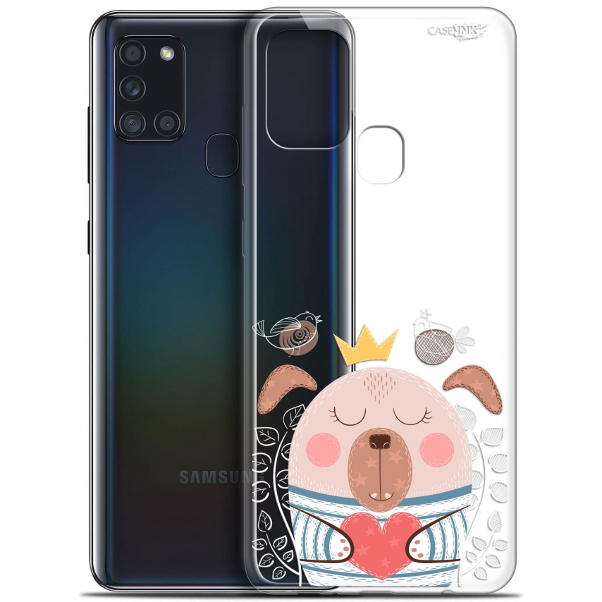 "Coque Gel Samsung A21S (6.5"") Motif - Sketchy Dog"