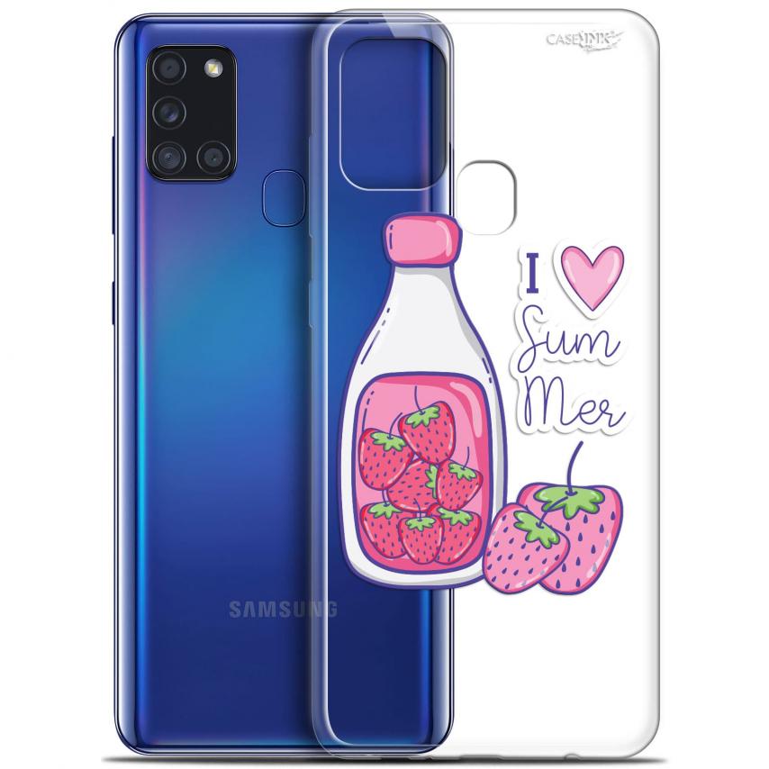 "Coque Gel Samsung A21S (6.5"") Motif - Milky Summer"