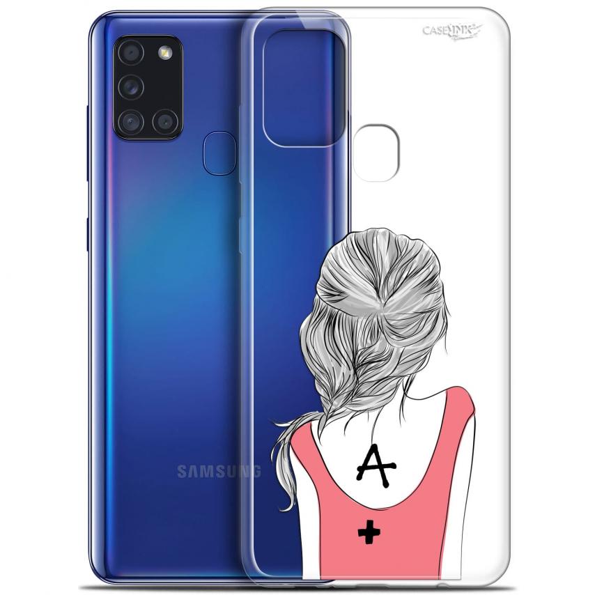 "Coque Gel Samsung A21S (6.5"") Motif - See You"