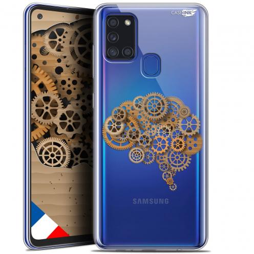 "Coque Gel Samsung A21S (6.5"") Motif - Mécanismes du Cerveau"