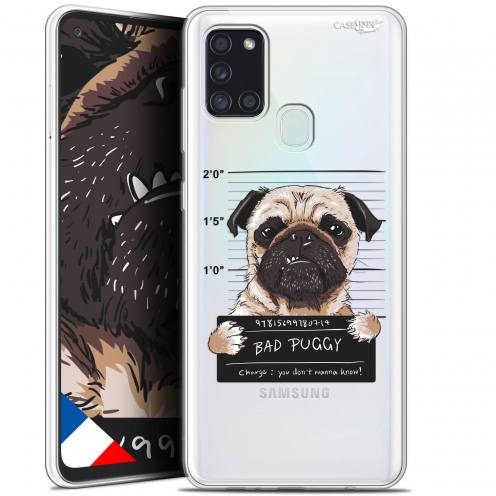 "Coque Gel Samsung A21S (6.5"") Motif - Beware The Puggy Dog"
