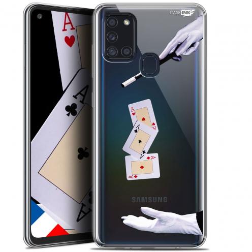 """Coque Gel Samsung A21S (6.5"""") Motif - Cartes Magiques"""