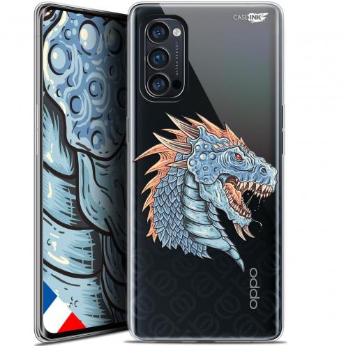"Coque Gel Oppo Reno 4 Pro 5G (6.5"") Motif - Dragon Draw"