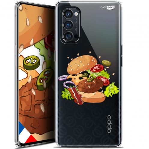 "Coque Gel Oppo Reno 4 Pro 5G (6.5"") Motif - Splash Burger"